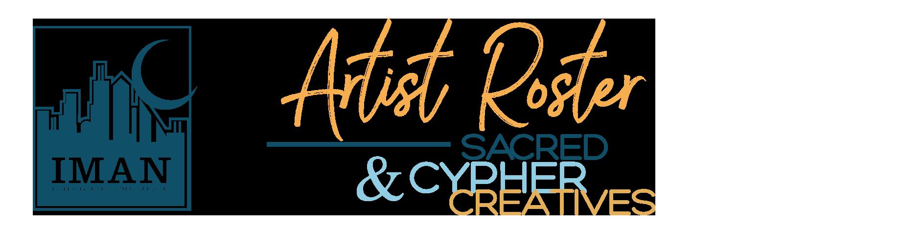 IMAN Artist Roster Logo